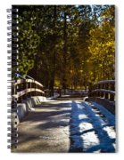 Falling Shadows Spiral Notebook
