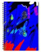 Falling Through Lightness  Spiral Notebook