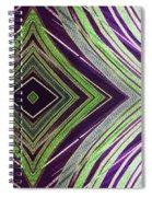Falling Through Spiral Notebook