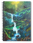 Falling To Grace Spiral Notebook