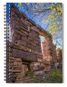 Falling Wall Jerome Spiral Notebook