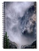 Falling Water Spiral Notebook