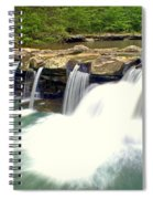 Falling Waters Falls 4 Spiral Notebook