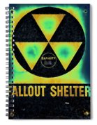 Fallout Shelter Abstract 2 Spiral Notebook