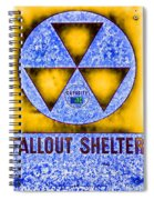 Fallout Shelter Abstract 4 Spiral Notebook
