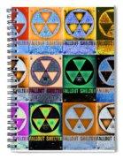 Fallout Shelter Mosaic Spiral Notebook