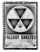 Fallout Shelter Wall 10 Spiral Notebook
