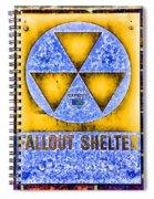 Fallout Shelter Wall 3 Spiral Notebook