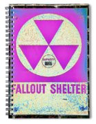 Fallout Shelter Wall 6 Spiral Notebook