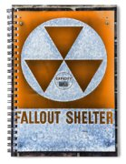 Fallout Shelter Wall 8 Spiral Notebook