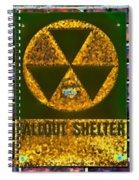 Fallout Shelter Wall 9 Spiral Notebook