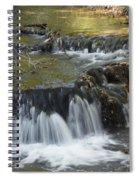 Falls Along Big Stone Lake Spiral Notebook