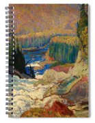Falls - Montreal River Spiral Notebook