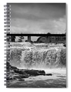 Falls Of The Big Sioux Spiral Notebook