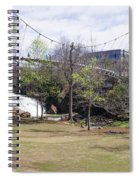 Falls Park On The Reedy Greenville Spiral Notebook