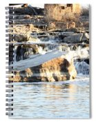 Falls Park Waterfalls Spiral Notebook