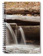Falls Through A Tree Spiral Notebook