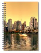 False Creek Triptych Centre Panel Spiral Notebook