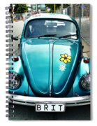 False Eyelashes Spiral Notebook