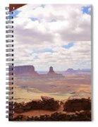 False Kiva Scenery Spiral Notebook