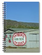 Fambrini's Farm Fresh Produce Spiral Notebook