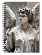 Famiglia Cavaliere Del Francesco Canti Memorial Marker Detail IIi Monumental Cemetery Spiral Notebook