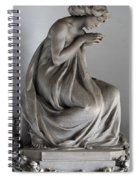 Famiglia Meretti Grave Marker Monumental Cemetery Milan Italy Spiral Notebook