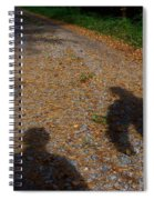 Familiar Shadows Spiral Notebook