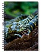 Baby Alligator Selfie Spiral Notebook