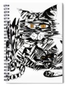 Family Cat Spiral Notebook