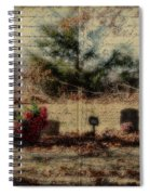 Family Plot Orton Style Spiral Notebook