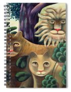 Family Portrait Spiral Notebook