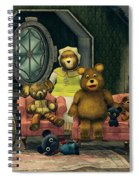 Family Portrait Spiral Notebook