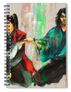 Family Samurai  Spiral Notebook