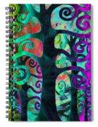 Family Struggle 3 Spiral Notebook