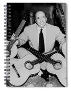 Famous Guitarist Carlos Montoya 1953 Spiral Notebook