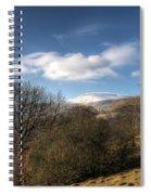 Fan Fawr Brecon Beacons 2 Spiral Notebook