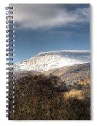 Fan Fawr Brecon Beacons 3 Spiral Notebook