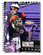 Fan Man 1 Spiral Notebook