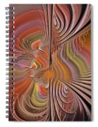 Fan Of Color Spiral Notebook