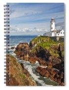 Fanad Lighthouse Donegal Ireland Spiral Notebook