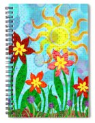 Fanciful Flowers Spiral Notebook
