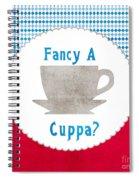 Fancy A Cup Spiral Notebook