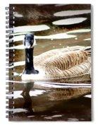 Fancy Goose Spiral Notebook