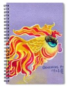 Fancytail Goldfish Spiral Notebook