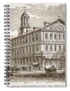 Faneuil Hall, Boston, Which Webster Spiral Notebook
