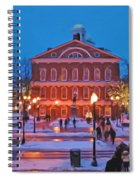 Faneuil Hall Holiday- Boston Spiral Notebook