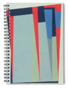 Fanfare, 1974 Acrylic On Gouache And Pencil Spiral Notebook