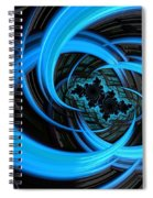 Fantasia Azul Spiral Notebook