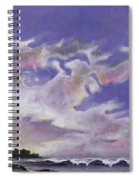Fantastic Sunset North Shore Oahu Hawaii Spiral Notebook
